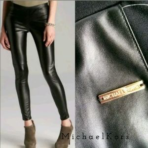 971488c64f01d Women Michael Kors Faux Leather Leggings on Poshmark